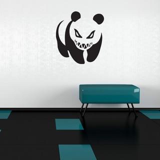 Style & Apply Crazy Panda Vinyl Banksy Mural Art Home Decor Wall Decal