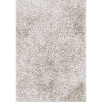 Hand-tufted Rocco Solid Ribbon Shag Rug - 5' x 7'6