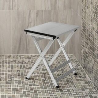 Folding Aluminum Shower Stool