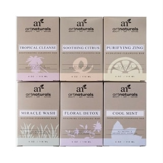 Art Naturals 6-piece Tropical Soap Set