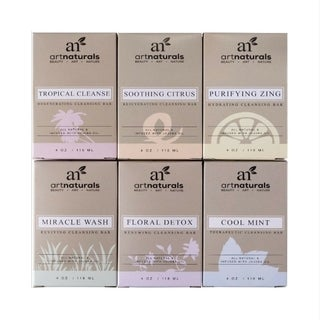 artnaturals 6-piece Tropical Soap Set