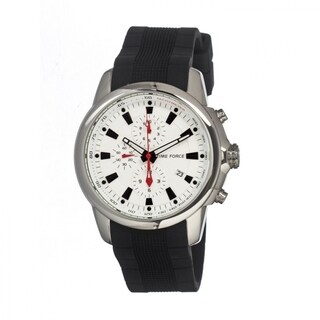 Timeforce Men's TMFTF7003 Avalanche White Watch