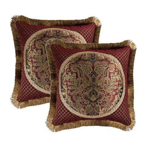 Sherry Kline Tangiers Main 18-inch Decorative Pillow (Set of 2)