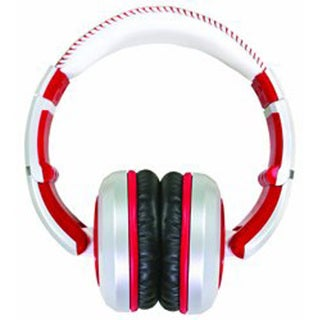 CAD Audio MH510RD Professional Closed-Back Studio Headphones (White and Red)