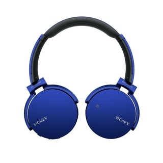 Sony XB650BT Extra Bass Bluetooth Headphones (Blue)