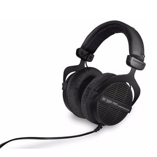 Beyerdynamic DT990 Open Back PRO Dynamic Headphones (Black, Limited Edition)