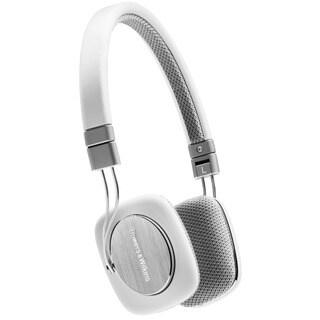 Bowers & Wilkins P3 Headphones (White/Grey)