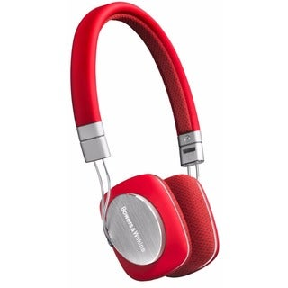 Bowers & Wilkins P3 Headphones (Red/Grey)