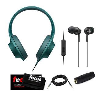 Sony MDR-100AAP h.ear High-Resolution Stereo Headphones w/ h.ear Headphones & M