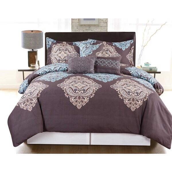 Musti 6-piece Vibrant Printed Comforter Set