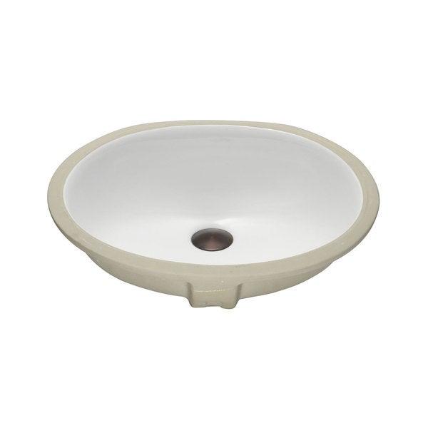 Lenova Vitreous China Clay 19-inch x 16-inch Bathroom Sink - Free ...