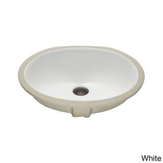 Lenova Vitreous China Clay 19-inch x 16-inch Bathroom Sink
