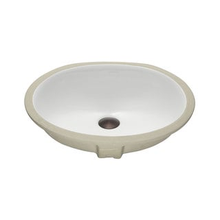 Lenova Vitreous China Clay 19-inch x 16-inch Bathroom Sink