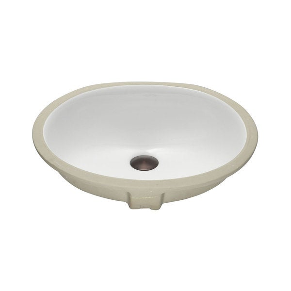 Lenova Vitreous China Clay 18 Inch X 15 Bathroom Sink