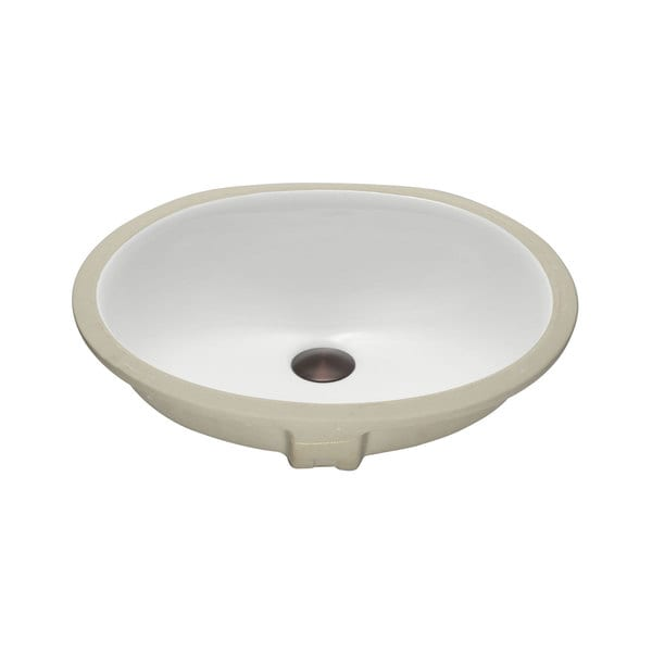 Lenova Vitreous China Clay 18 Inch X 15 Inch Bathroom Sink