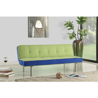 Hailey Flannel Adjustable Futon Sofa Bed