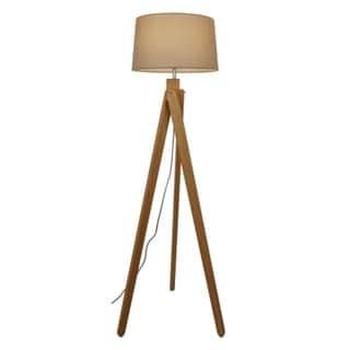 Light Society Angularity Floor Lamp - Tan