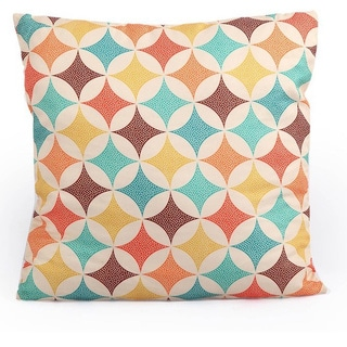 Kardiel 19-inch x 19-inch Square Accent Decorative Throw Pillow