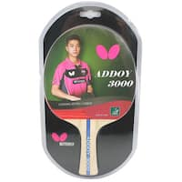 Butterfly Addoy 3000 ITTF Approved Sponge and Addoy Rubber Table Tennis Racket