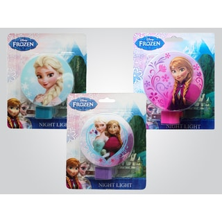 Disney 'Frozen' Multicolor Plastic Wall Night Lights (Pack of 3)
