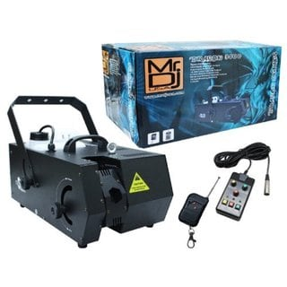 Mr.DJ Mr. Dragon 3500 Black Professional Fog Machine With Moving Head