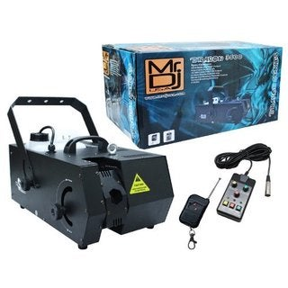 Mr.DJ Mr. Dragon 3500 Black Professional Fog Machine With Moving Head