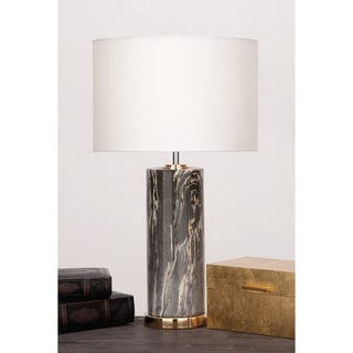 Urban Designs Soho Ceramic Column Table Lamp