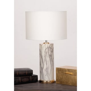 Urban Designs Midtown Ceramic Column Table Lamp