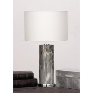 Urban Designs Manhattan Ceramic Column Table Lamp