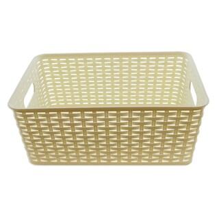 YBM Home Plastic Rattan Storage Box Basket Organizer Ba426