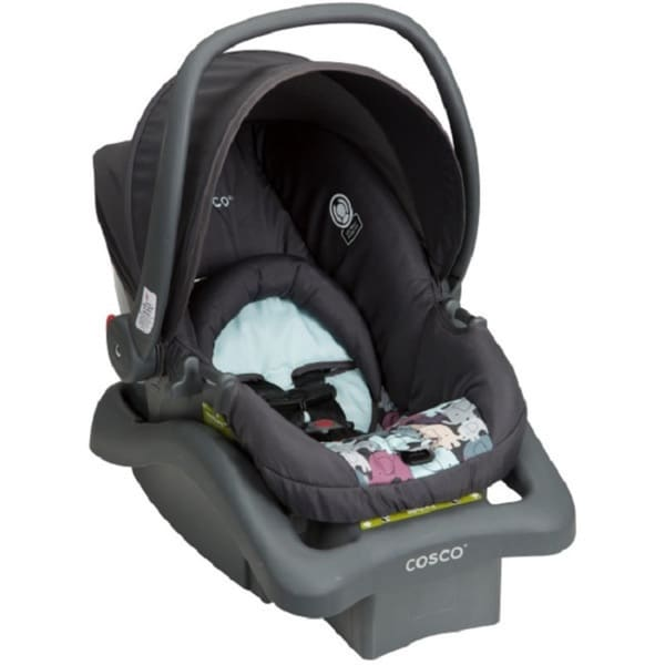 Cosco Light 'n Comfy DX Poppy Field Plastic Infant Car Seat - Free