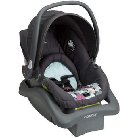 Cosco Light 'n Comfy DX Poppy Field Plastic Infant Car Seat