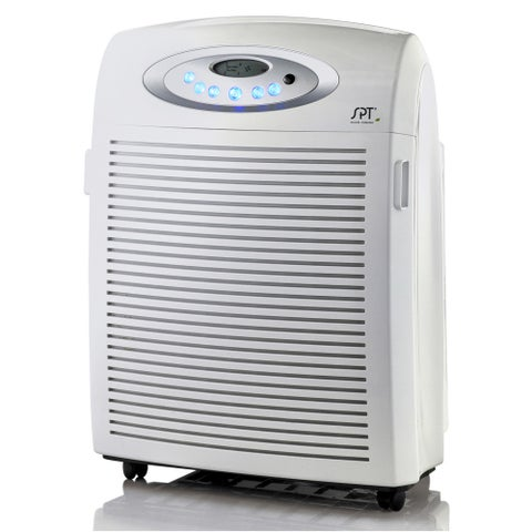 AC-9966 Air Cleaner with Plasma Technology and HEPA and VOC Filters - White