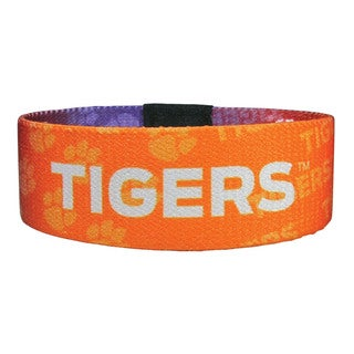 NCAA Clemson Tigers Stretch Bracelets