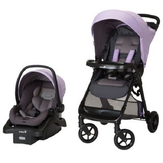 Safety 1st Smooth Ride Wisteria Lane Purple Plastic Travel System
