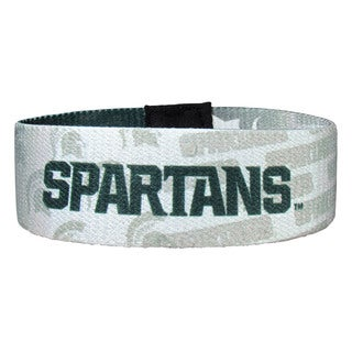 NCAA Michigan St. Spartans Multicolored Stretch Bracelet