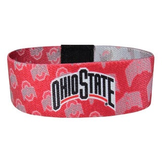 NCAA Ohio State Buckeyes Sports Team Logo Stretch Bracelet