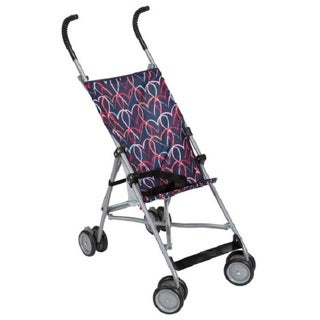 Cosco Chalkboard Hearts Black/Multicolored Fabric Umbrella Stroller