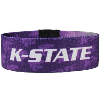 NCAA Kansas State Wildcats Sports Team Logo Stretch Bracelets
