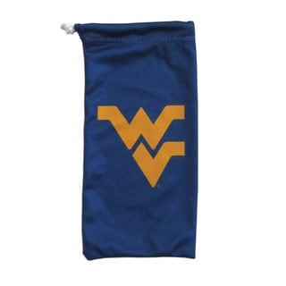 West Virginia Mountaineers Microfiber Sunglasses Bag