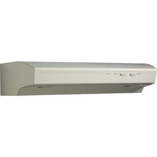 Broan-NuTone, LLC Allure I (QS1) Series 30 In. 4-Way Convertible Under Cabinet Range Hood - Bisque