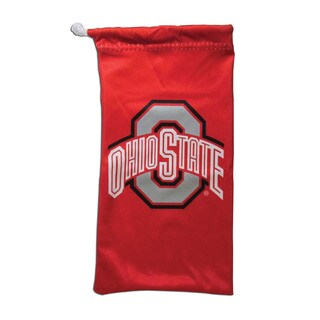 Siskiyou Red Microfiber NCAA Ohio State Buckeyes Glasses Bag