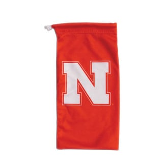 Siskiyou Nebraska Cornhuskers NCAA Microfiber Sunglass Bag