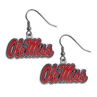 Siskiyou NCAA Mississippi Rebels Dangle Earrings