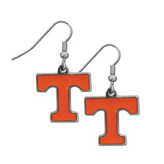 Siskiyou NCAA Tennessee Volunteers Chrome Dangle Earrings