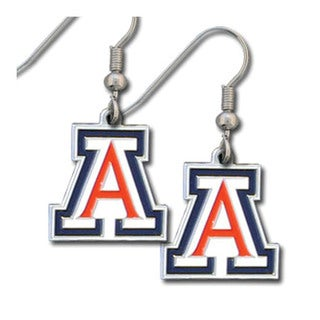 Siskiyou NCAA Arizona Wildcats Enameled Dangle Earrings