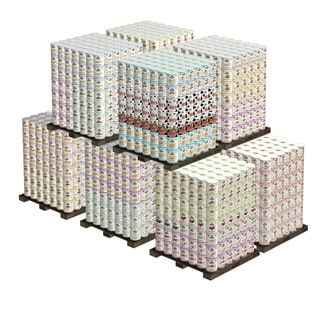 Augason Farm's Mega Emergency 20-person 1-year 2,940 #10 Cans, 153,030 Serving Food Supply - White