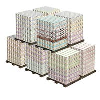 Augason Farm's Mega Emergency 20-person Food Supply 1-year 2,940 No. 10 Cans, 153,030 Serving - White
