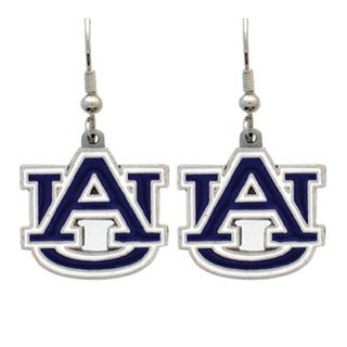 NCAA Auburn Tigers Sports Team Logo Dangle Earrings