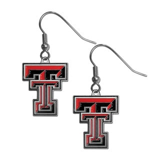 Siskiyou Texas Tech Raiders NCAA Dangle Earrings